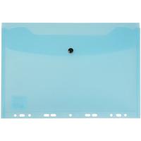 Teczka kopertowa zawieszana A4 niebieska przezroczysta TP-12-03 BIURFOL