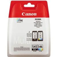 Tusz CANON (PG-545+CL-546/8287B005) czarny+kolor 2szt