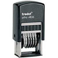 Numerator 4836 6/3.8mm TRODAT