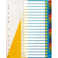 Przekładki PP A4 alfabetyczne A-Z BP631-AZ TETIS
