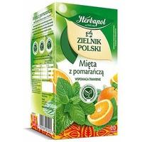 Herbata HERBAPOL MIĘTA Z POMARAŃCZĄ 20t