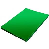 Folia do bindowania A4 DATURA/NATUNA przezroczysta zielona 0.20mm 100szt.