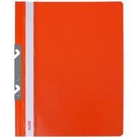 Skoroszyt twardy zawieszany metalowy pomarańczowy (20) ST-10-08 BIURFOL