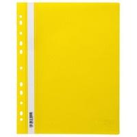 Skoroszyt zawieszany PP NATUNA (20) żółty wzmocniony polipropylenowy