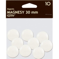 Magnesy 30mm GRAND białe 130-1693