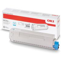 Toner OKI (45862839) niebieski 7300str
