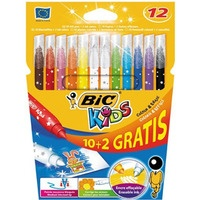 Flamastry 10+2 KIDS COLOUR ERA SE 880507 BIC /9202952