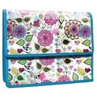 Teczka z klapką na rzep A4 PP z nadr FLOWERS 0410-0066-40 PANTA PLAST