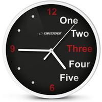 Zegar ścienny PRAGUE biały EHC014W ESPERANZA