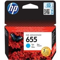 Tusz HP 655 (CZ110AE) niebieski 600str 3520/3525/4615/4625/5525/6525