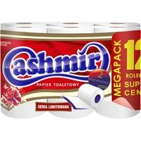 Papier toaletowy (12szt) biały 198338 CASHMIR