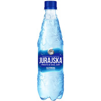 Woda mineralna JURAJSKA 0, 5L (12szt)gazowana
