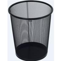 Kosz na papier czarny metalowy 12 litrów NH-10C GRAND 120-1127
