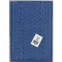CYFRY samop. 2cm (8) niebieski ARTDRUK
