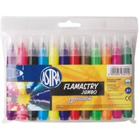Flamastry JUMBO 12 kolorów 314110001 ASTRA