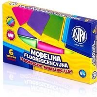Modelina fluorescencyjna 6 kolorów 83911902 ASTRA