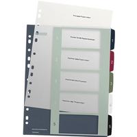 Przekładki plastikowe LEITZ STYLE 1-5 12350000 do zadruku