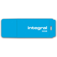 Pamięć USB INTEGRAL 32GB 2.0 NEON BLUE INFD32GBNEONB
