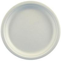 Talerz z trzciny cukrowej 23cm, biały(50szt)45190 100% biodegradowalny
