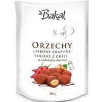 Orzechy laskowe w czekoladzie z chili BAKAL Sweet, 80g ABAK-080