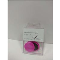 Magnesy neonowe różowe 32mm (4) 5032KM4-095 VICTORY