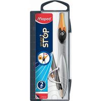 Cyrkiel STUDY STOP + ołówek, pud z zawieszką 195210 MAPED