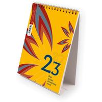 Kalendarz ze spiralką - pionowy 2019 T-101-3-04 Michalczyk i Prokop