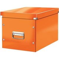 Pudło uniwersalne LEITZ C&S rozmiar L pomarańczowe 61080044