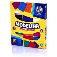 Modelina 12 kolorów 304110001 ASTRA