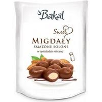 Migdały smażone solone w czekoladzie BAKAL Sweet, 80g ABAK-077