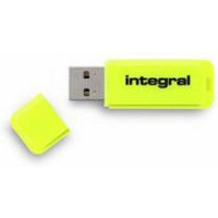 Pamięć USB INTEGRAL 32GB 2.0 NEON YELLOW INFD32GBNEONYL