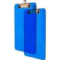 Deska z klipem A5 niebieska transparentna BD640-N TETIS