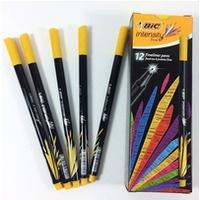 Cienkopis INTENSITY FINE żółty 950462 BIC