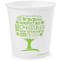 Kubki papierowe GREEN TREE 100ml(50szt)LV-4-GT 4oz 100% biodegradowalne