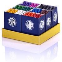 Zestaw kredek woskowych 12 kolorów x 12 sztuk - 144 sztuki 316111004 ASTRA