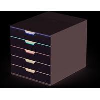 Pojemnik z pięcioma kolorowymi szufladami VARICOLOR mix 5, 280x292x356mm, 762527 DURABLE