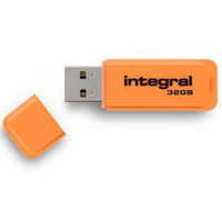 Pamięć USB INTEGRAL 32GB 2.0 NEON ORANGE INFD32GBNEONOR