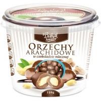 Kubek orzechów arachidowych w czekoladzie mlecznej BAKAL Sweet, 150g ABAK-036