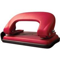 Dziurkacz metalowy 10k. czerwony GD008-AC TETIS