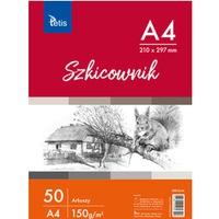 Szkicownik A4 150g 50ark KB010-A4 TETIS