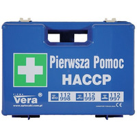 Apteczka HACCP niebieska VERA