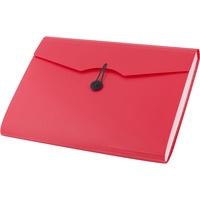 Teczka A4 12 przegródek 5580 czerwona 110389 D.RECT
