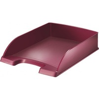 Półka na dokumenty LEITZ Syle A4 Rubinowa czerwień 52540028