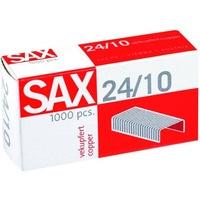 Zszywki SAX 24/10 miedziane (1000)