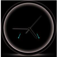 Zegar ścienny LYON czarny EHC016K ESPERANZA