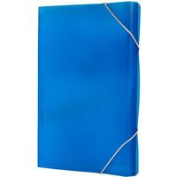 Teczka A4 harm.PP 13przegródek z gumką/rogach niebieska BT621-N TETIS