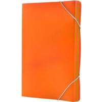 Teczka A4 harm.PP 13przegródek z gumką/rogach pomarańczowa BT621-P TETIS