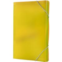 Teczka A4 harm.PP 13przegródek z gumką/rogach żółta BT621-Y TETIS