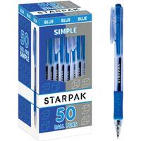 Długopis automatyczny SIMPLE niebieski 363606 STARPAK