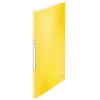 Album ofertowy 20 koszulek PP Leitz WOW, żółty 46310016